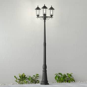 Lampione Nane a forma di lanterna, 3 punti luce