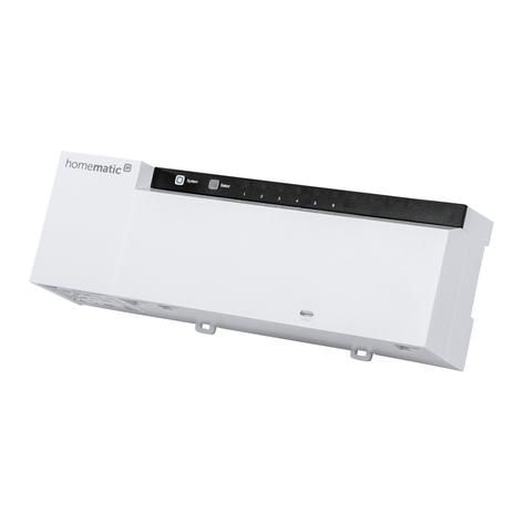 Homematic IP actuador de radiador suelo, x 6, 24V