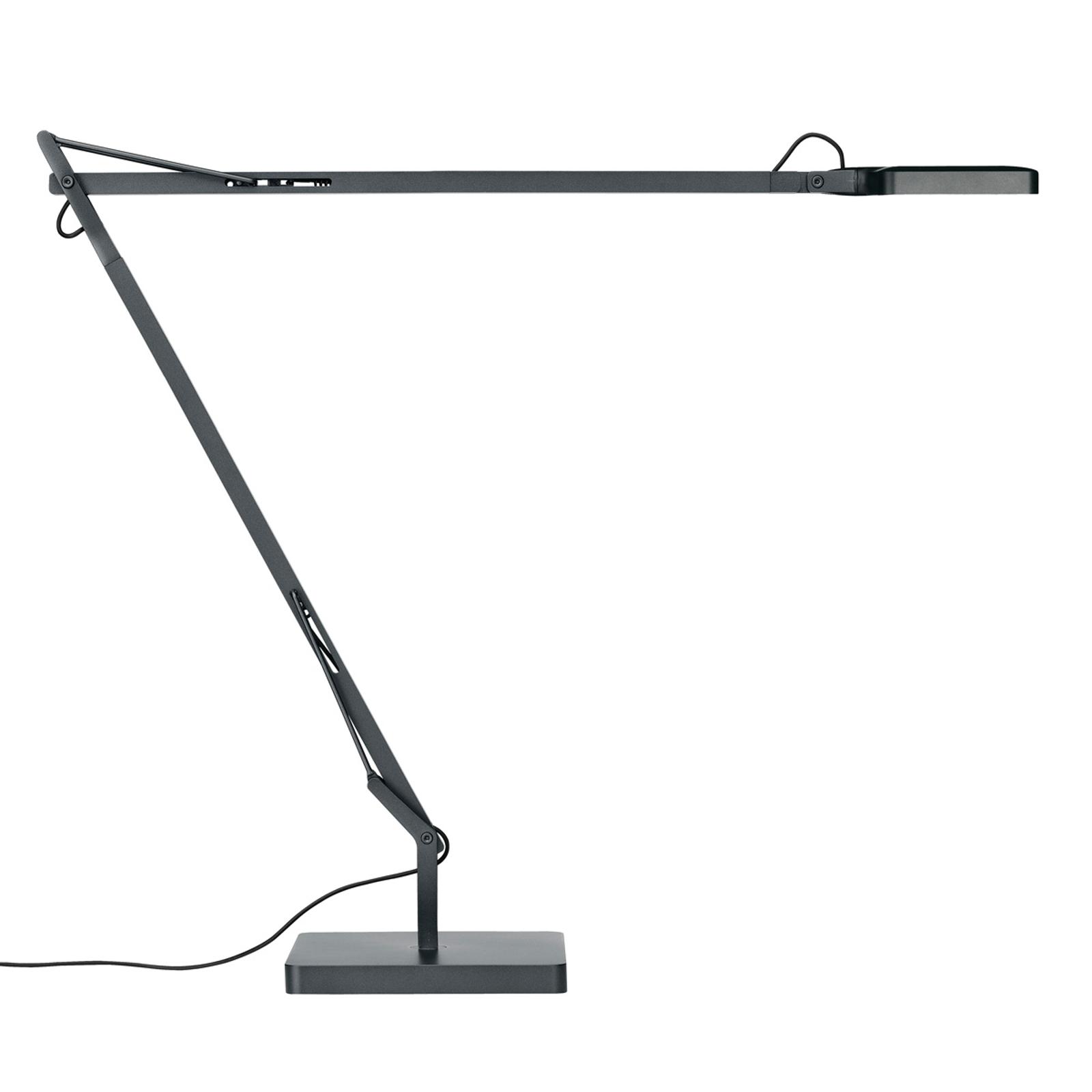 FLOS Kelvin LED-Tischleuchte in Anthrazit