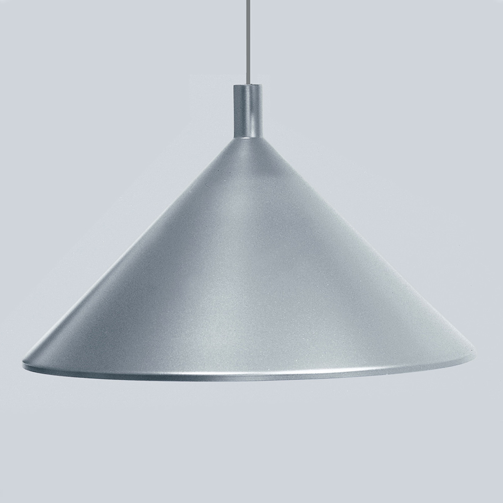 Martinelli Luce Cono suspension grise, Ø 45 cm