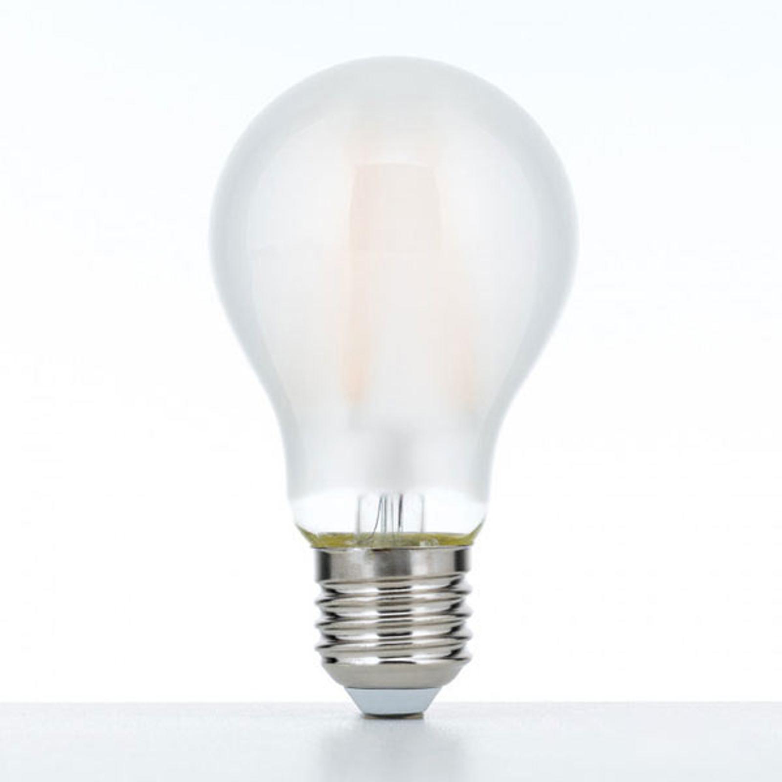 LED-Lampe E27 10W 2.700K matt dimmbar