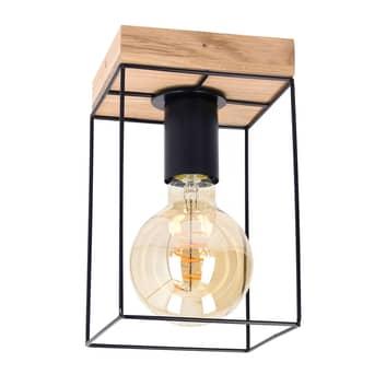 Envolight Gretter stropní světlo, kov/dub, 1 zdroj