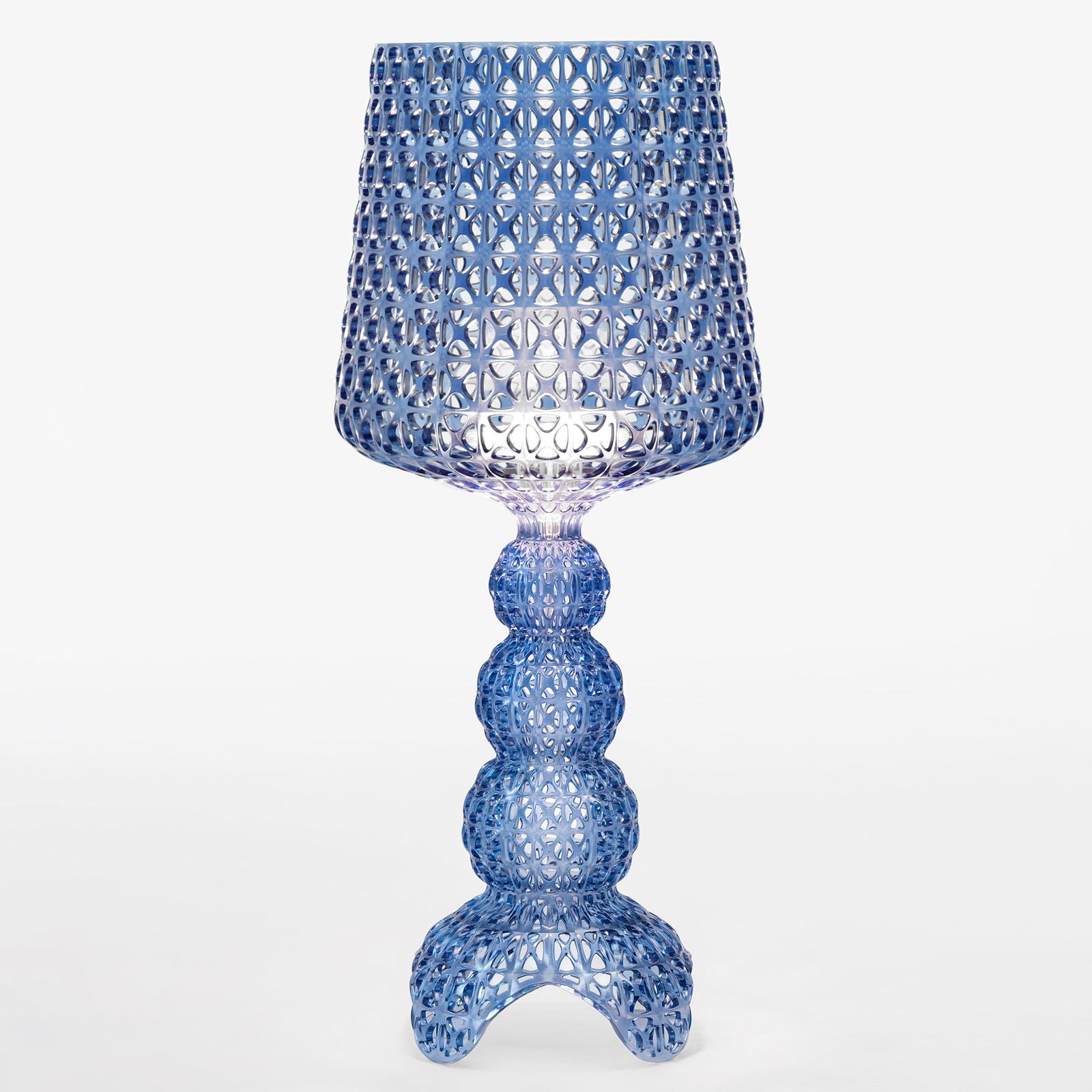 Kartell Mini Kabuki - LED-Tischlampe, blau