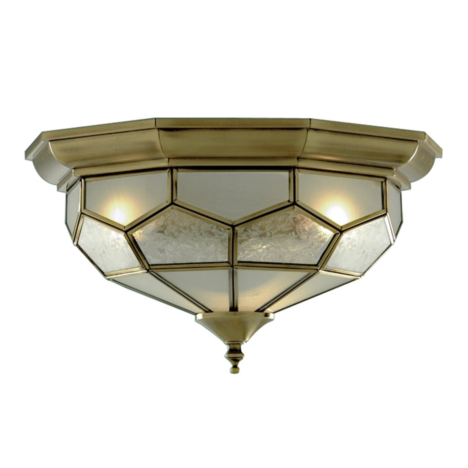Ładna lampa sufitowa FRIDA ze szklanymi wkładami