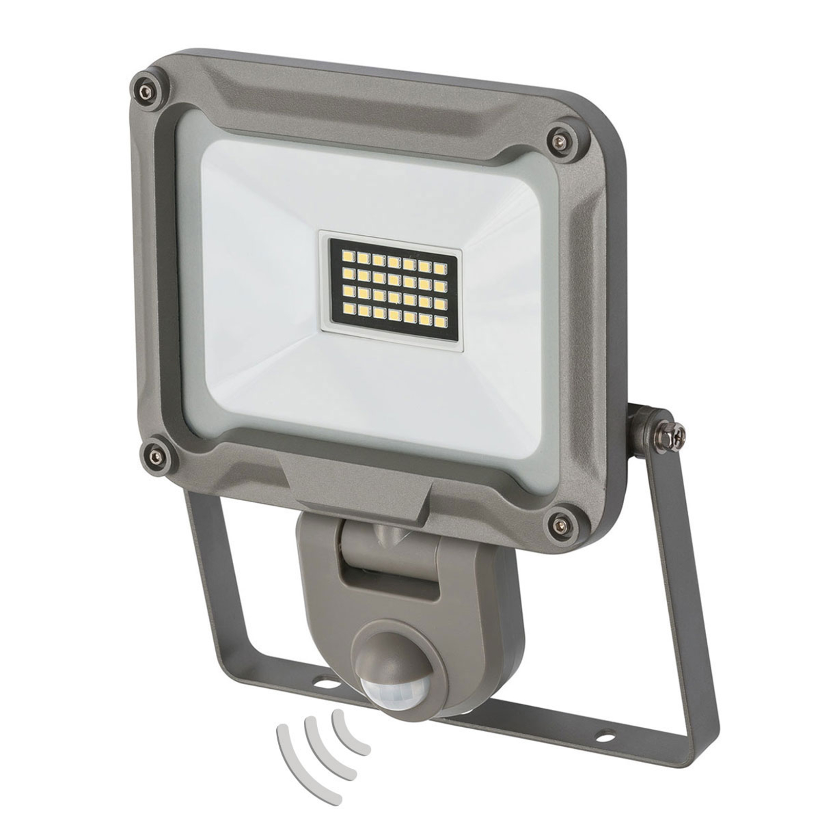 LED buitenspot Jaro met sensor IP44 20W