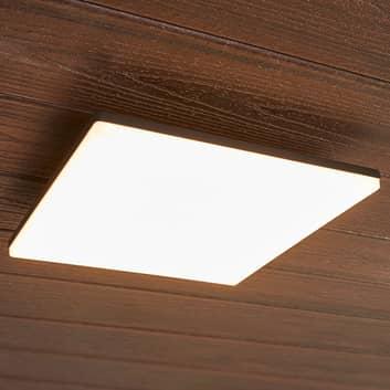 Kvadratisk LED-loftslampe Henni udendørs