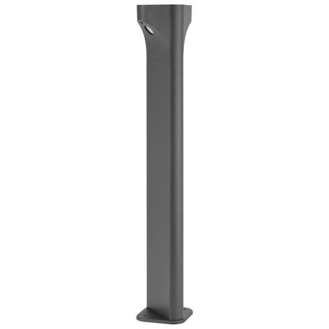 Lucande Valdeta lampione LED, altezza 80 cm