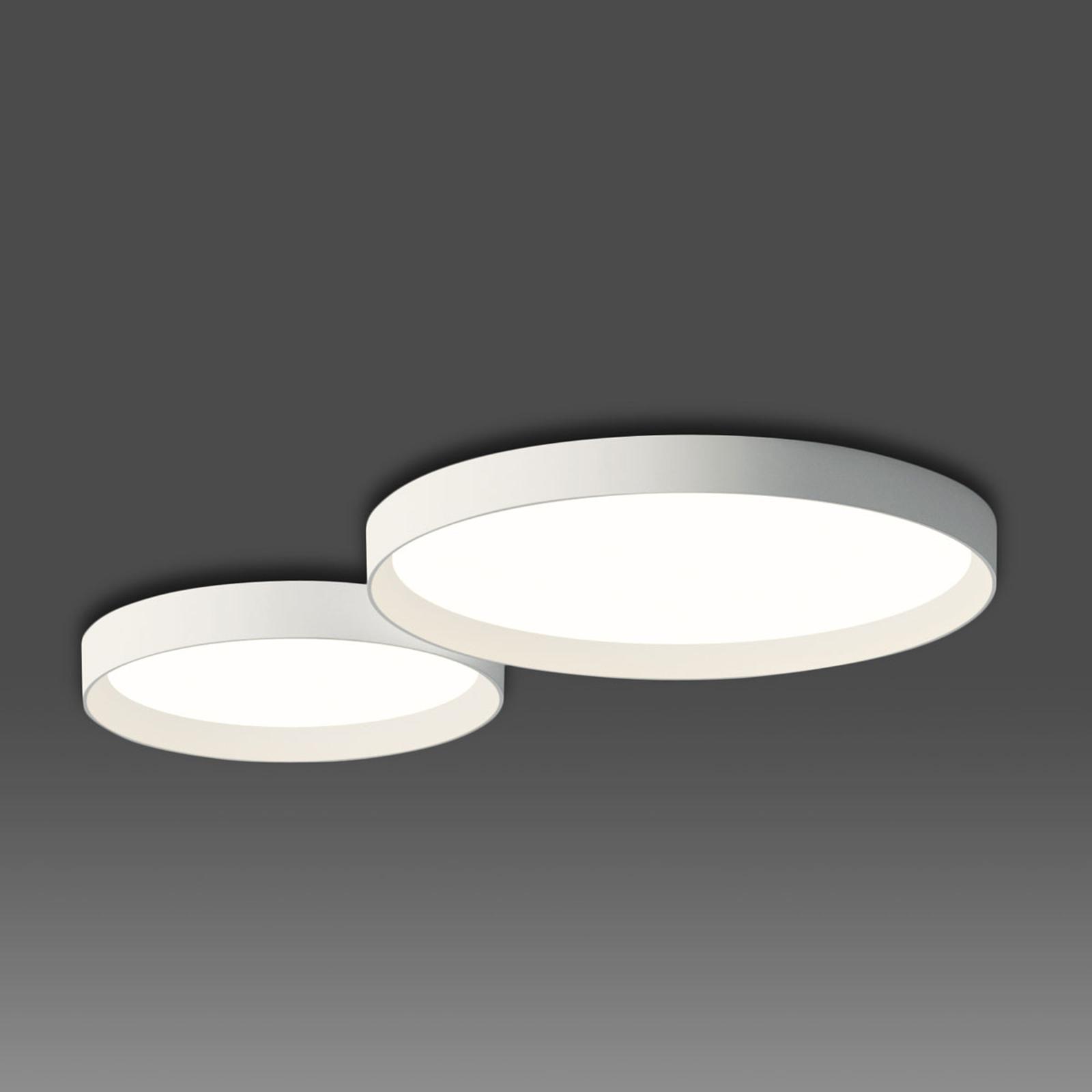 Vibia Up - dezente LED-Deckenleuchte weiß