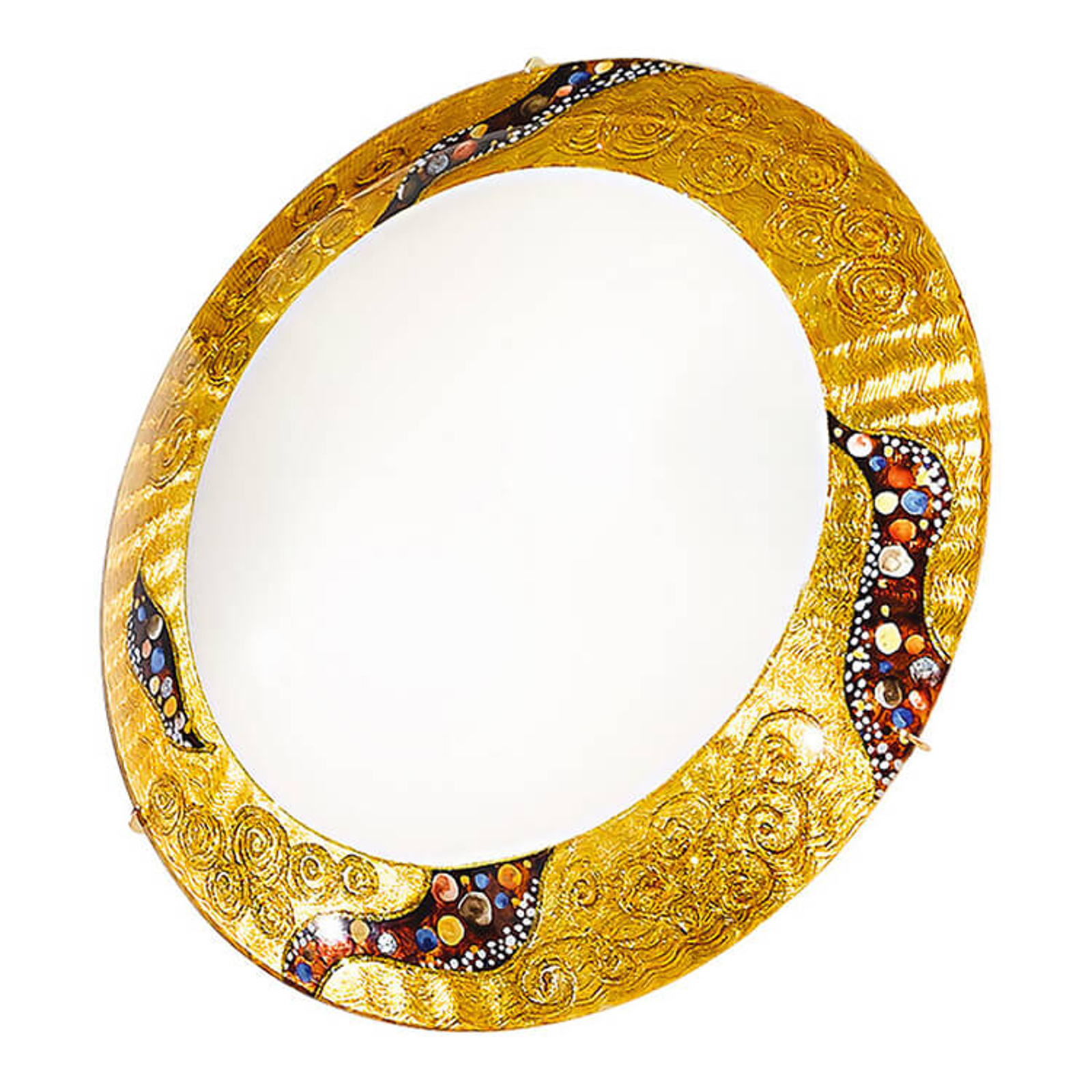 KOLARZ Kiss - runde Wandleuchte, 30 cm