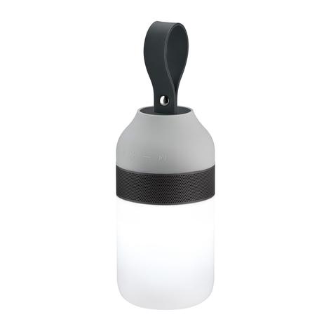 Paulmann Clutch Sound Tischlampe Akku, Bluetooth
