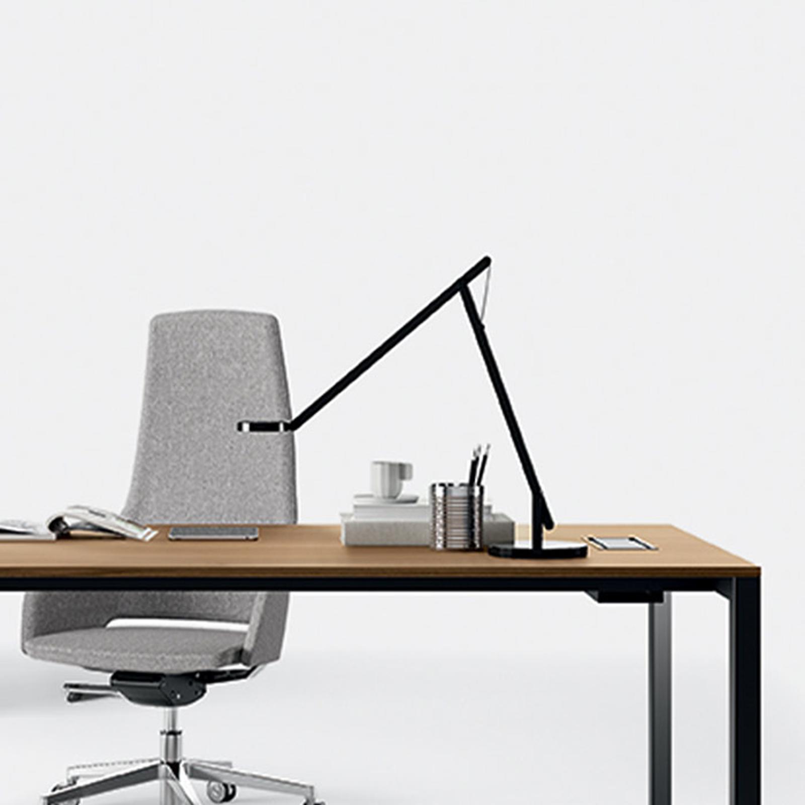 Rotaliana String LED-Tischleuchte, schwarz