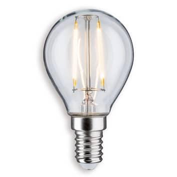 Paulmann LED-Tropfenlampe E14 2,6W 827 klar
