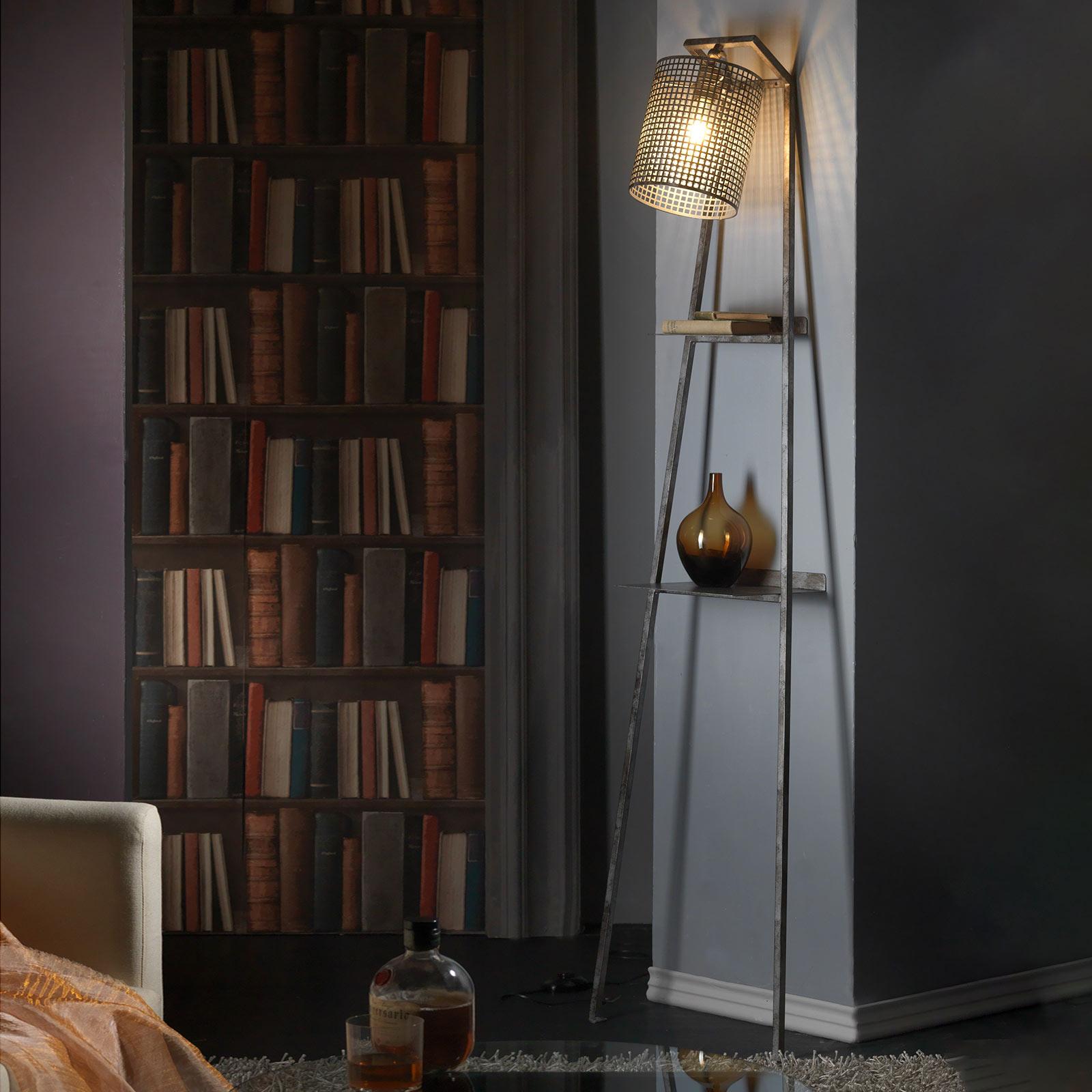 Vloerlamp Scaletta om te steunen aan de muur