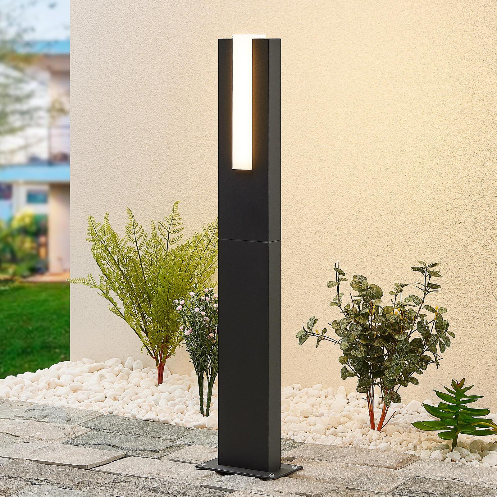 Lucande Virgalia słupek oświetleniowy LED, 65 cm
