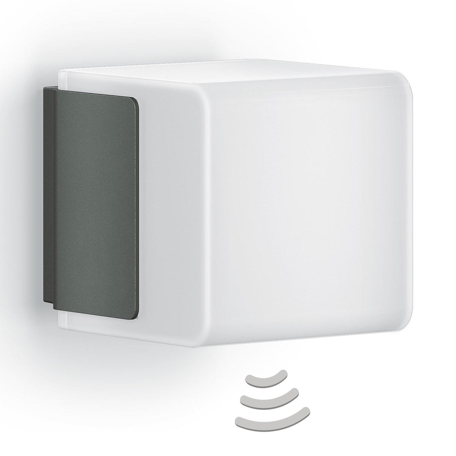 STEINEL L 835 iHF Cubo applique da esterno grigio