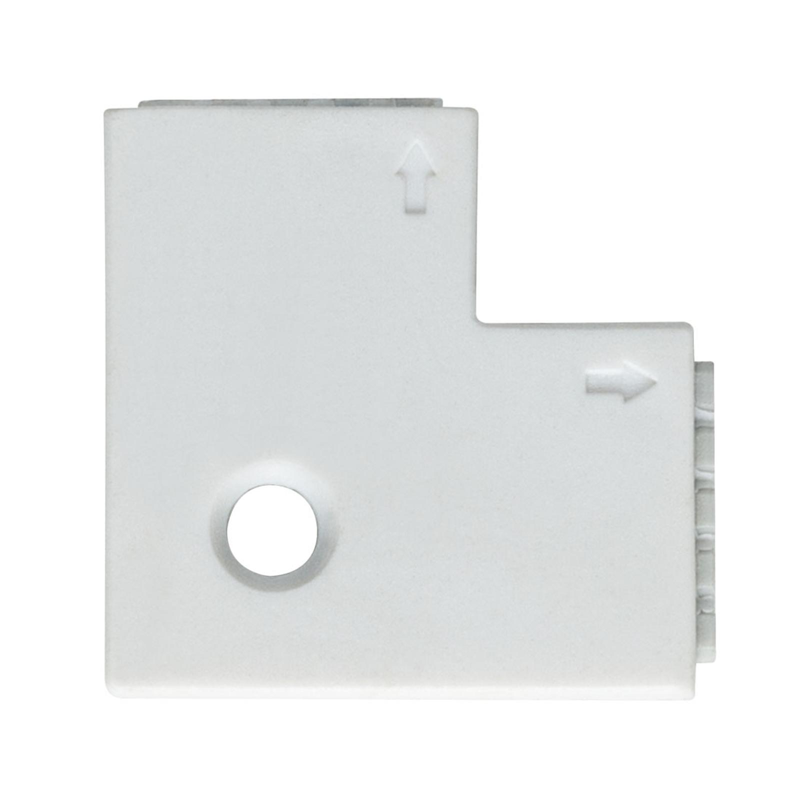 Paulmann MaxLED Eckverbinder 90°, 4er weiß