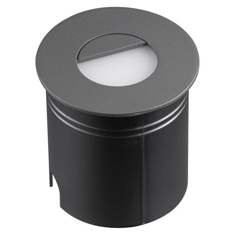 Lámpara empotrada LED Aspen, difusor, redondo