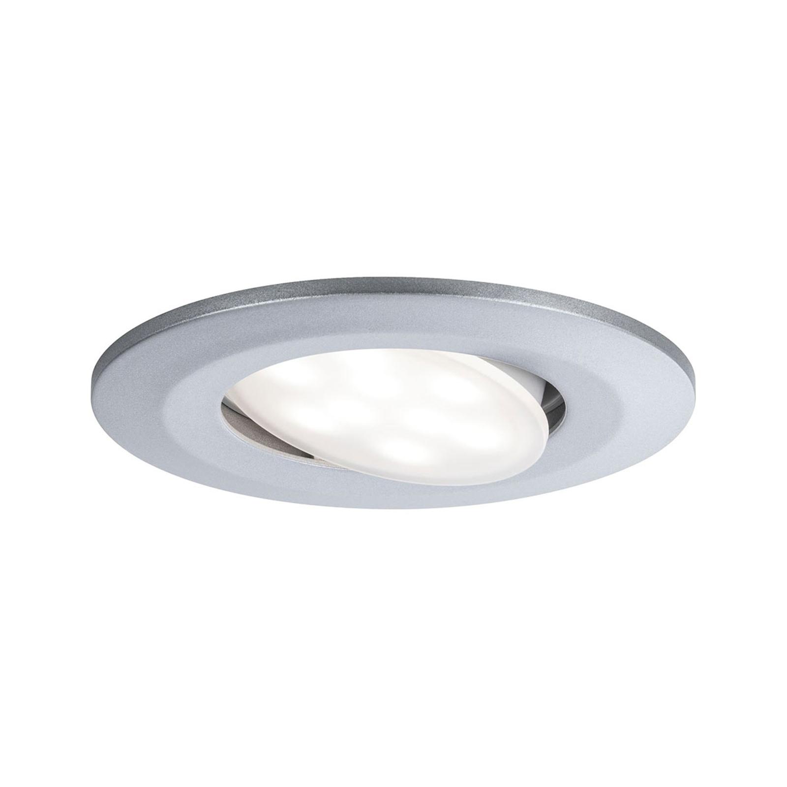 Paulmann LED-Außen-Einbauspot Calla chrom