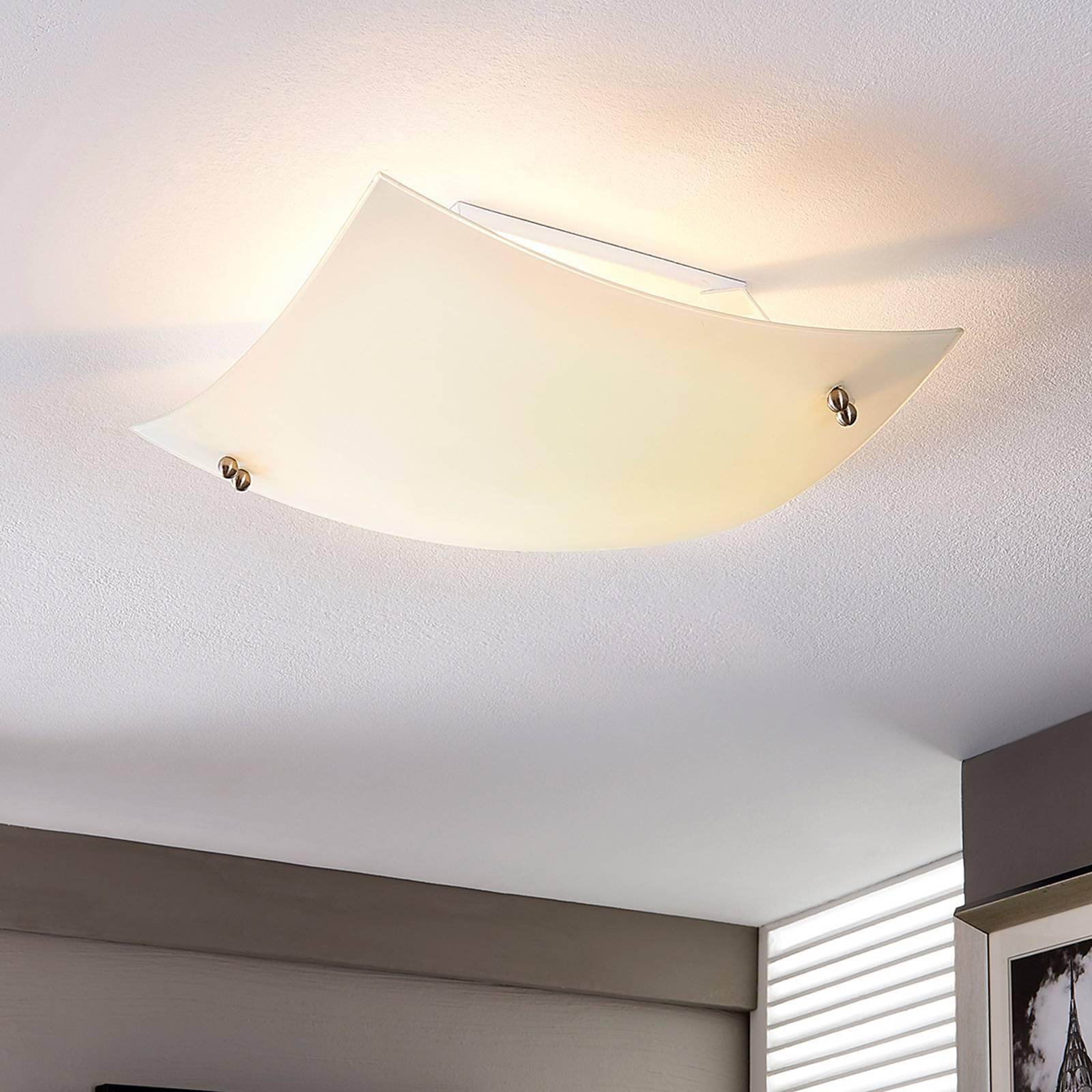 Wypukła lampa sufitowa VINZENT, LED E27
