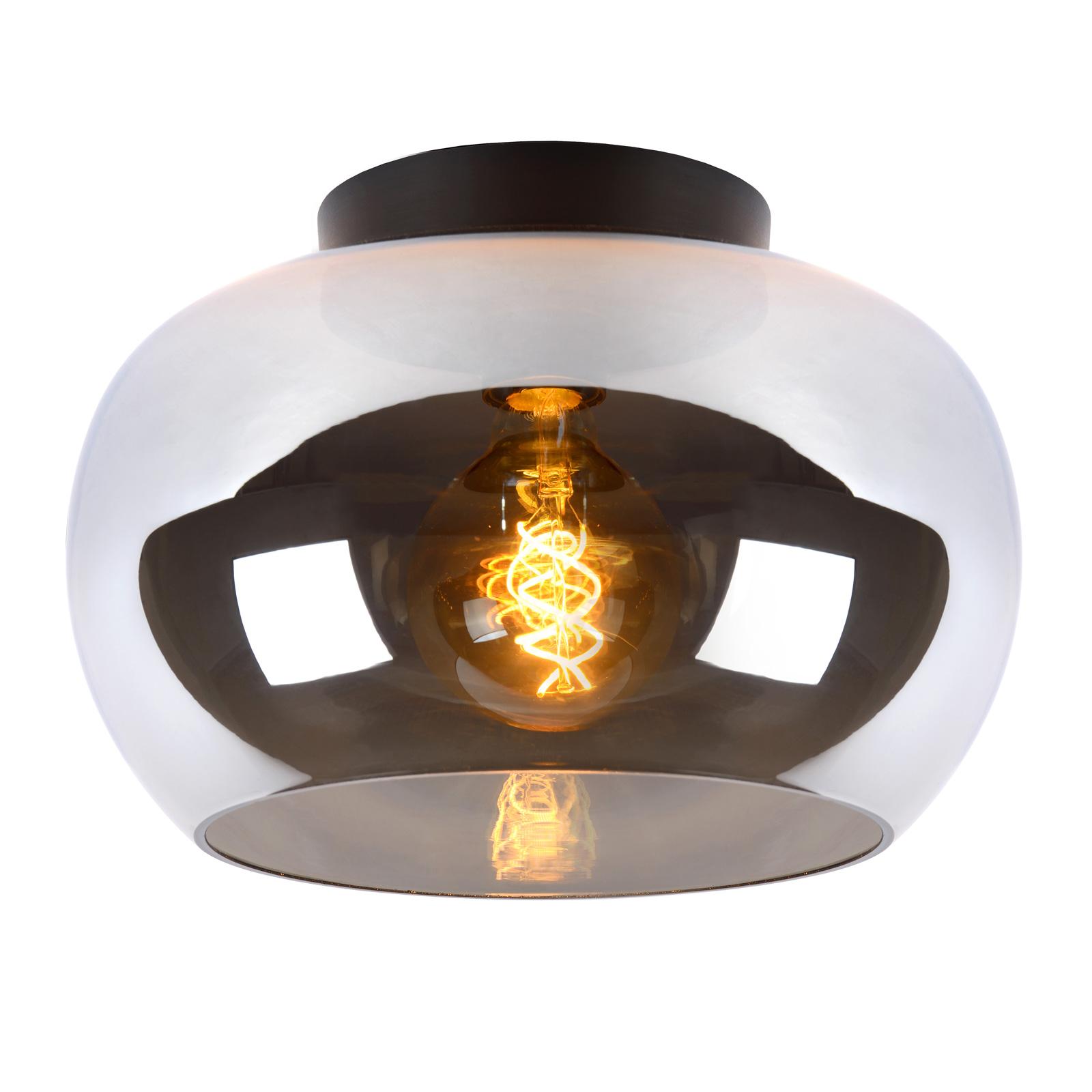 Taklampen Judi av glass, Ø 30,5 cm