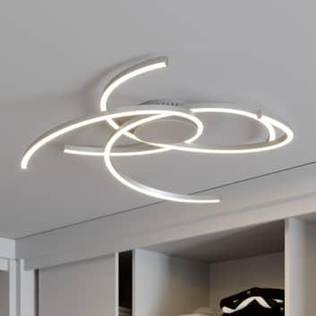 Lindby Katris LED-loftlampe, 73 cm, alu