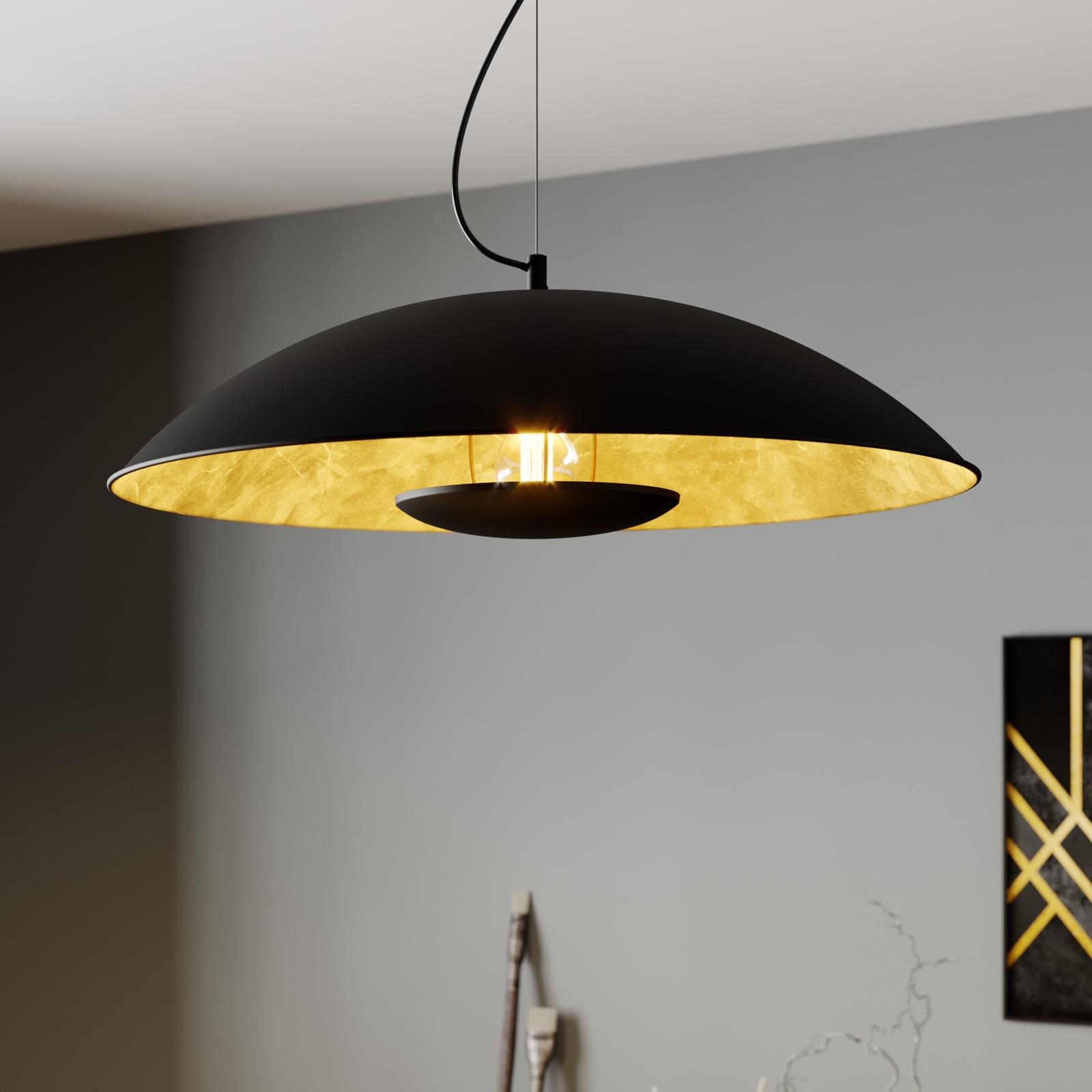 Lámpara colgante Emilienne con luz indirecta