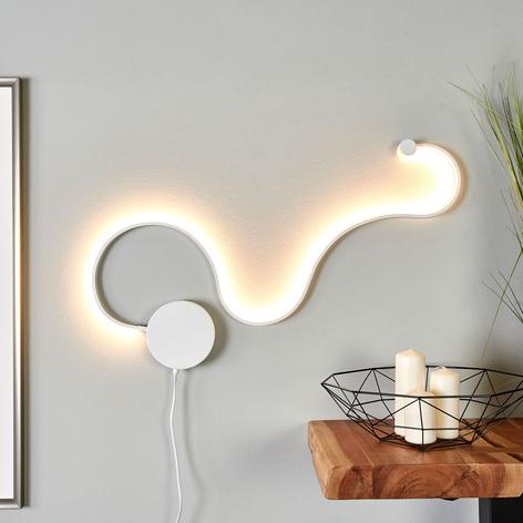 Näyttävä LED-kattovalaisin Sandor