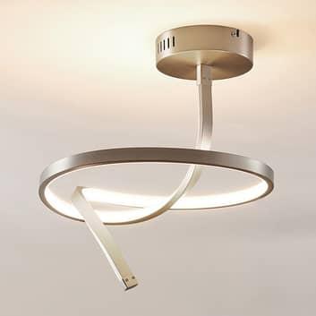 Plafoniera LED Dominykas di forma sinuosa