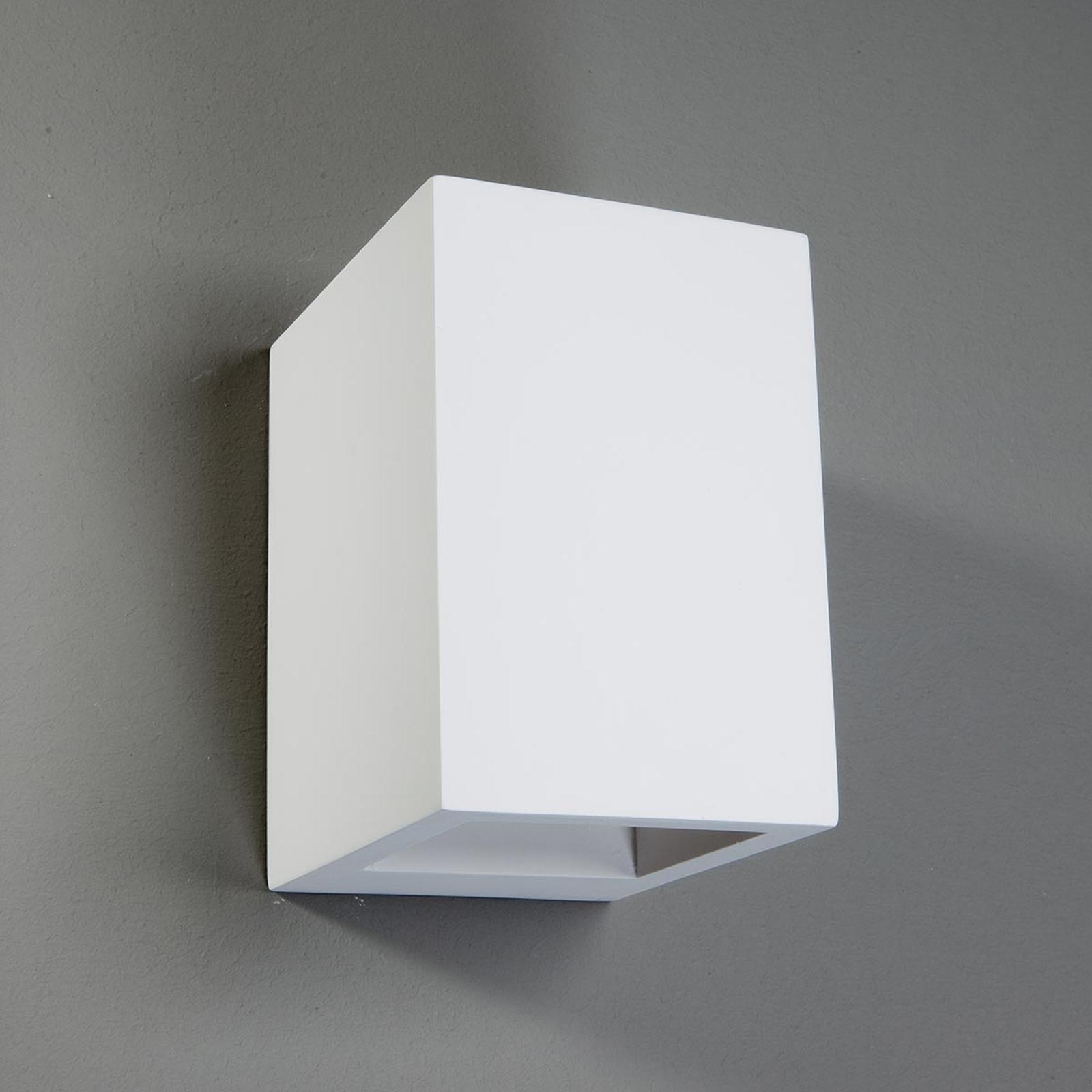 Aplique halógenoZaio rectangular pintable