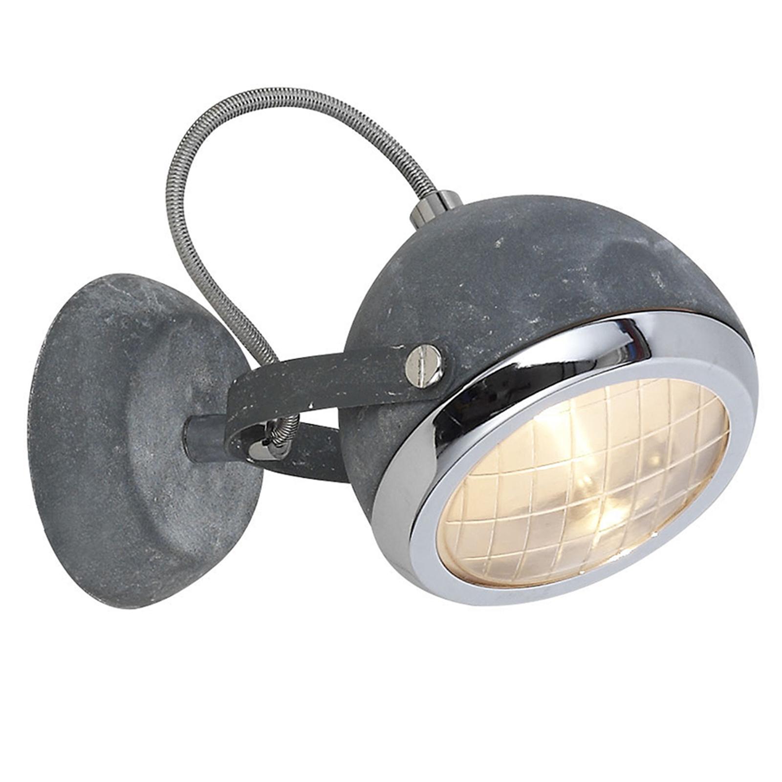Lámpara de pared Rider con gran estilo