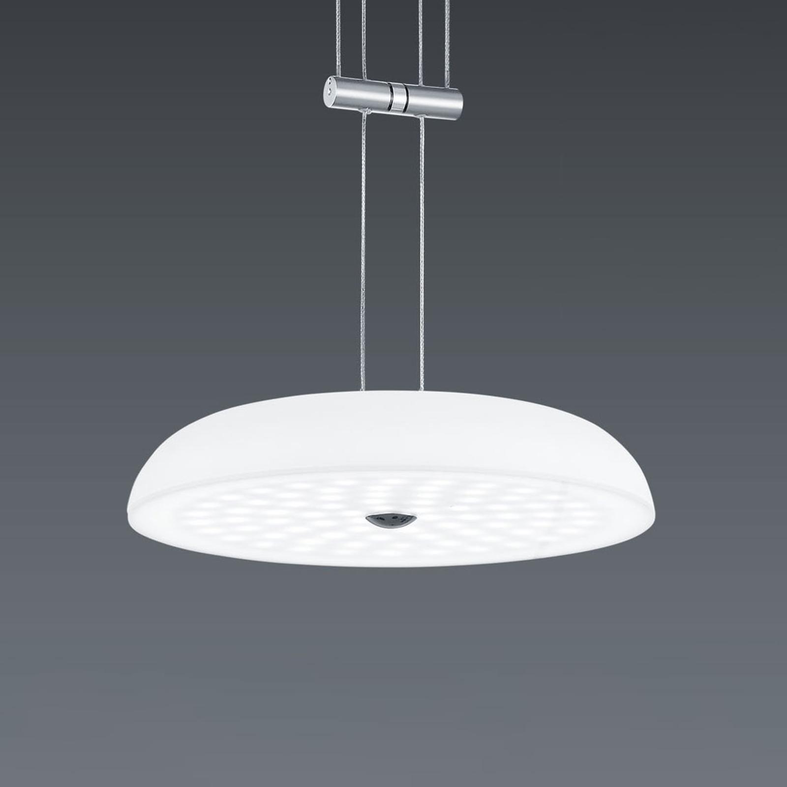 BANKAMP Vanity hanglamp 1 lampje nikkel Ø 25 cm