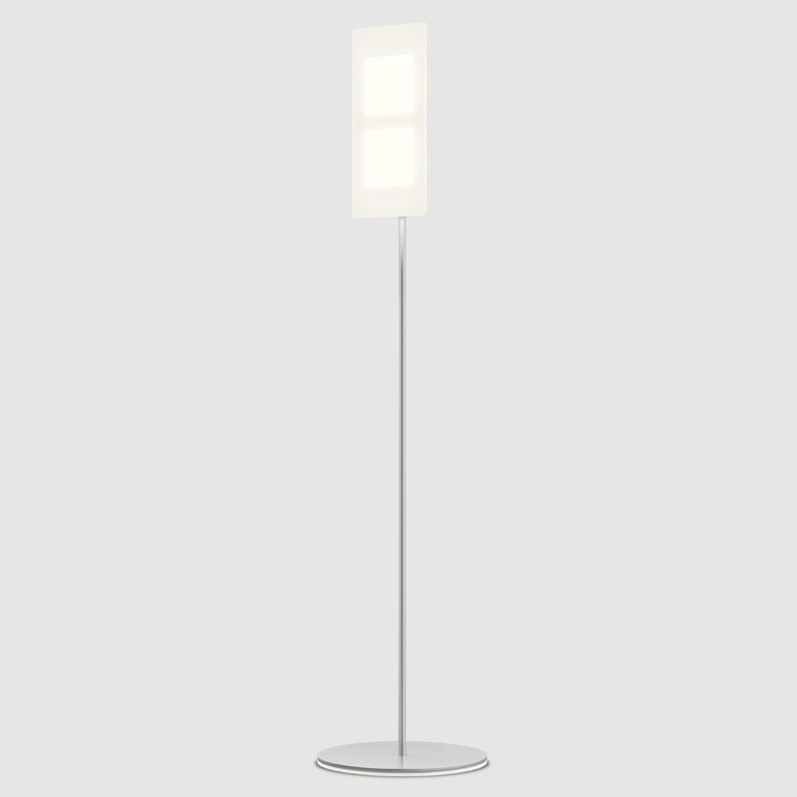 Med OLED:er - golvlampa OMLED One f2 vit
