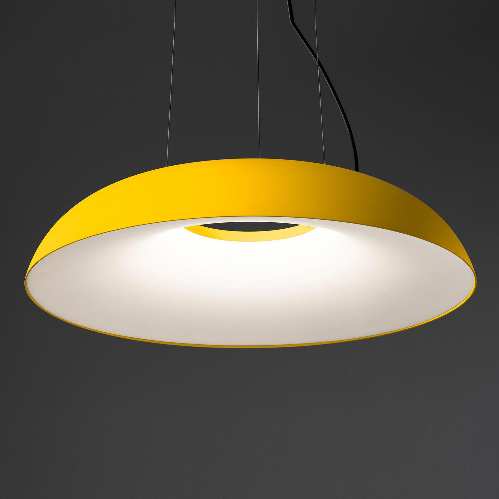 Martinelli Luce Maggiolone Pendel 930 85cm gelb