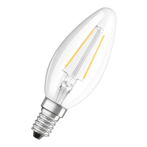 OSRAM LED-Kerze E14 Classic B 2,5W 4.000K klar