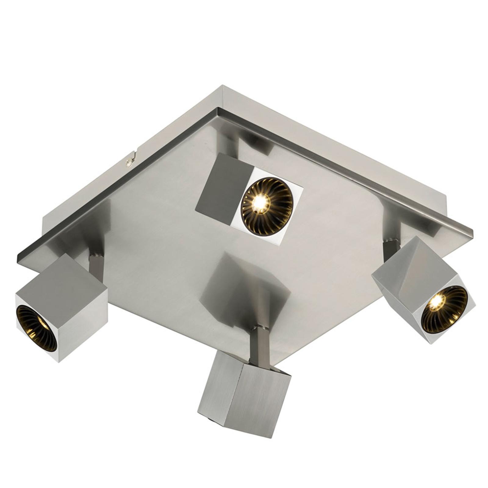 Plafonnier LED à éclairage direct/indirect Cuba
