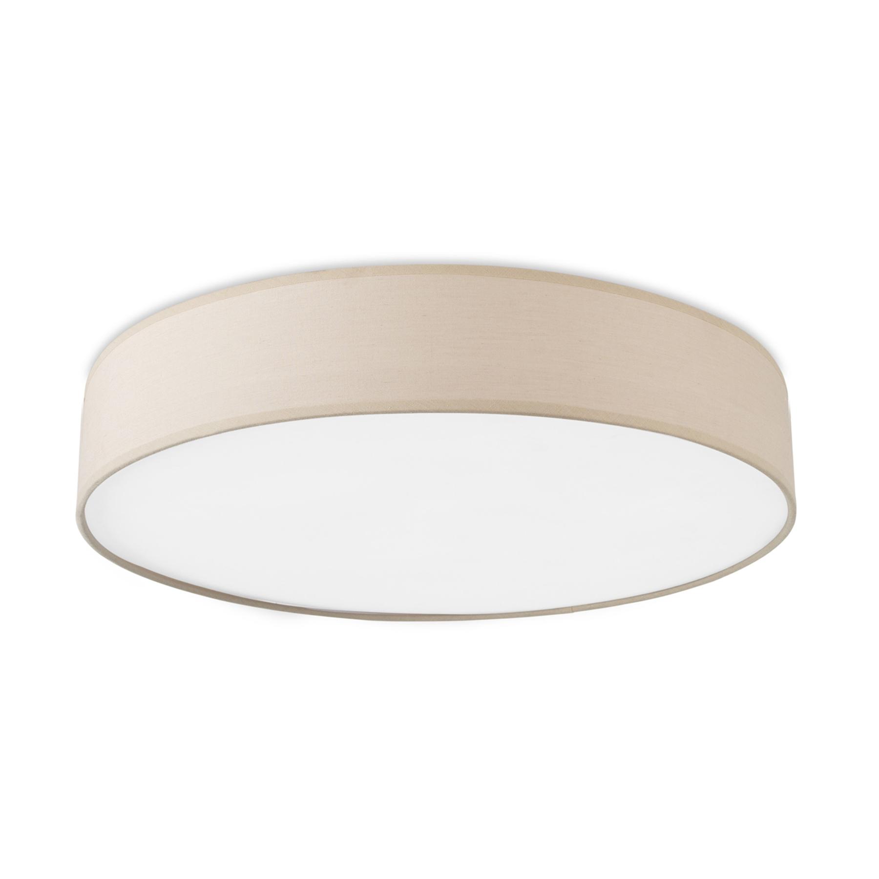 LEDS-C4 Bol LED plafondlamp met stoffen kap