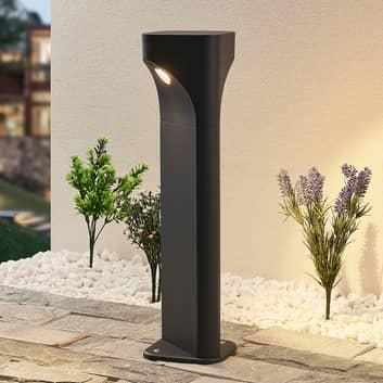 Lucande Valdeta lámpara sobremuro LED altura 50 cm