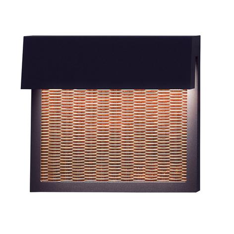 Bover Sisal A/01 LED-Außenwandleuchte, light beige