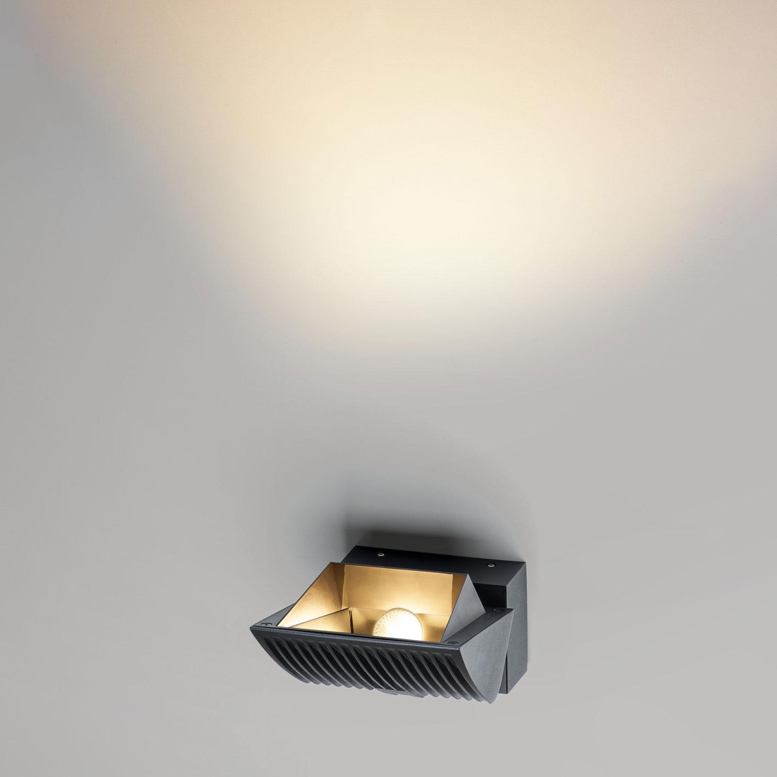 SLV Merado Flood LED wandlamp 4.000K zwart