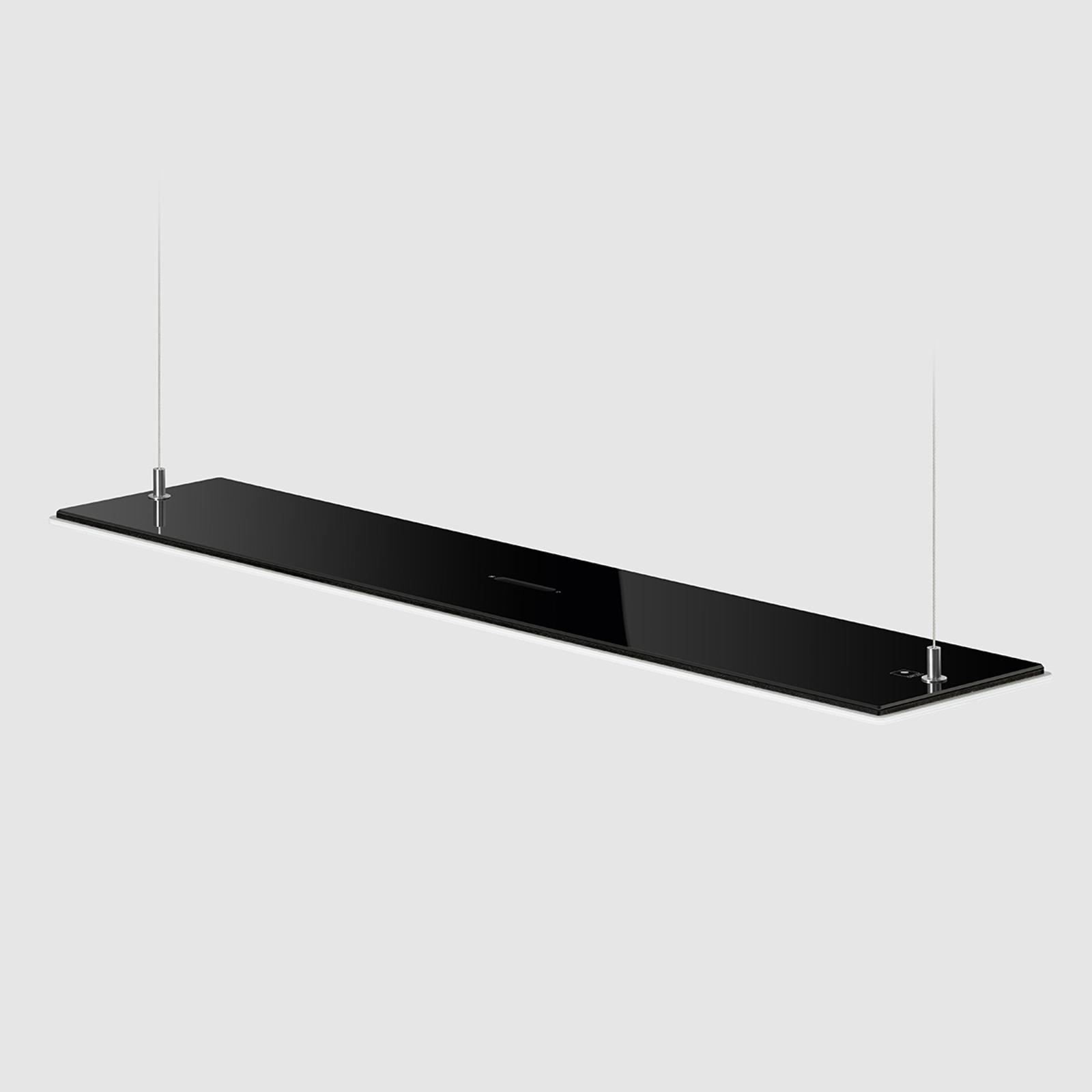 Schwarze OLED-Hängeleuchte OMLED One s5