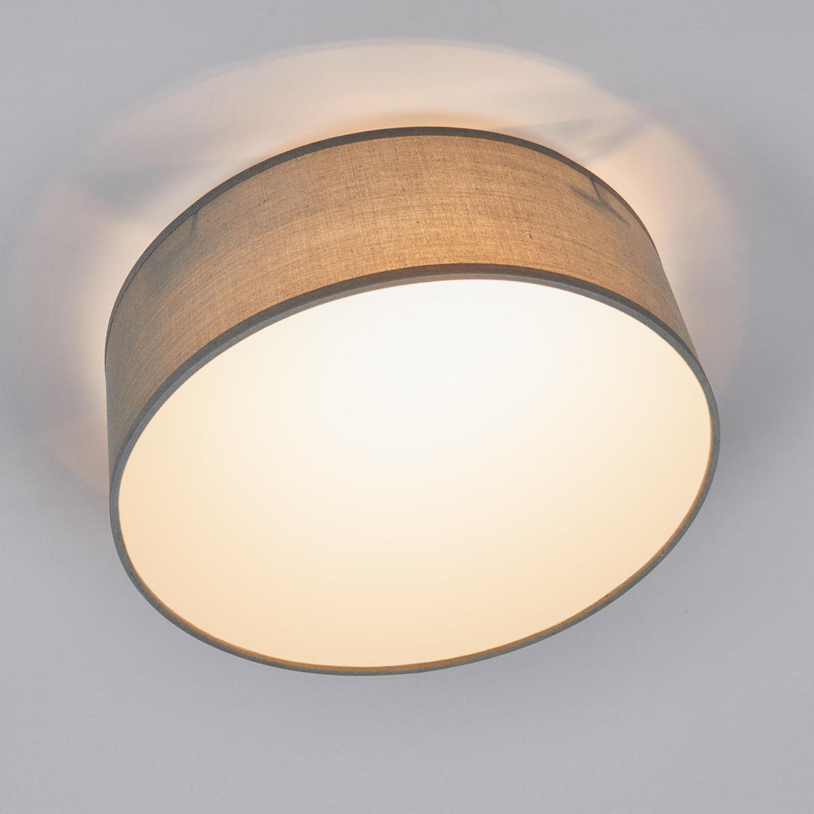 Grå taklampe Ceiling Dream i tekstil, 30 cm