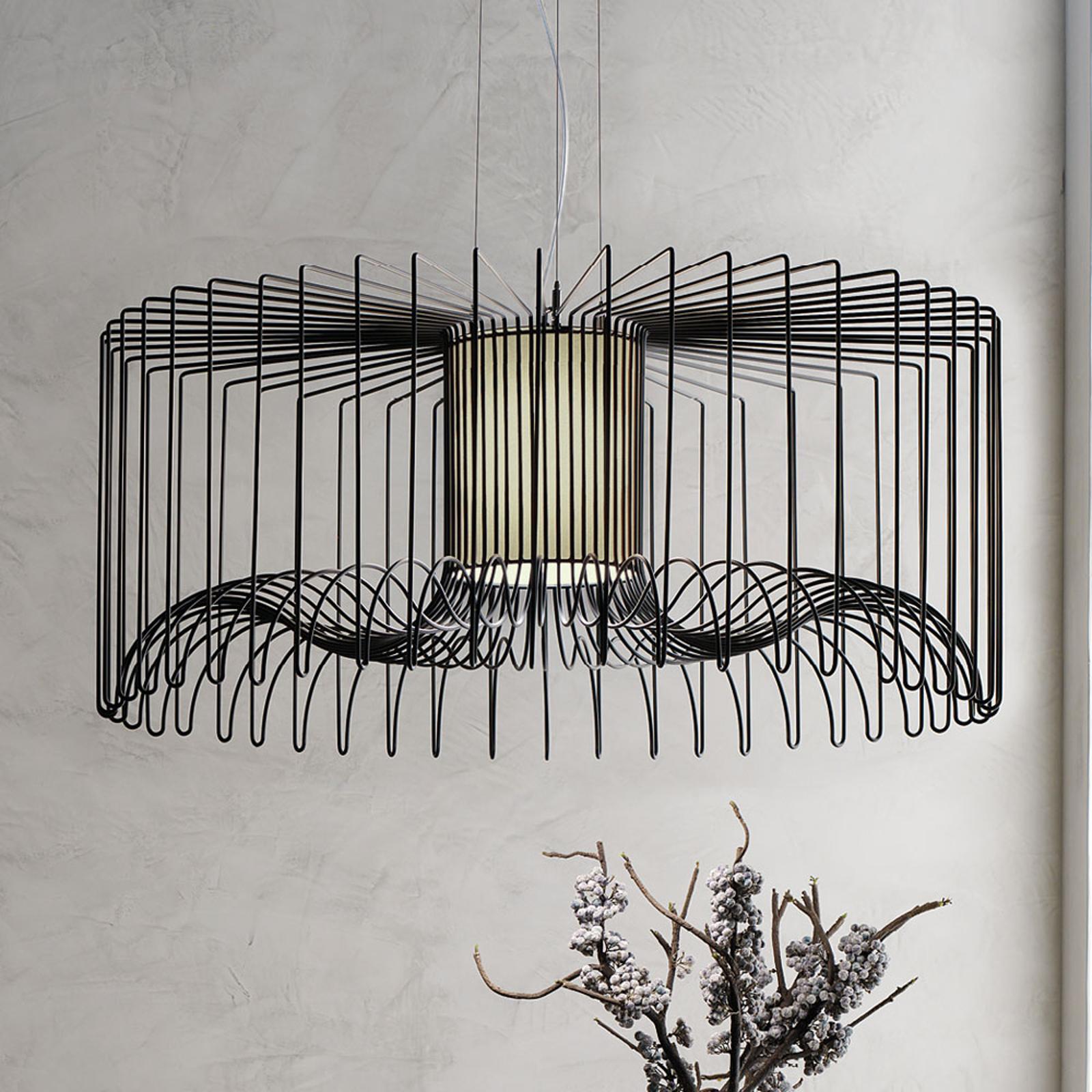 Modo Luce Icaro suspension Ø 75cm noire