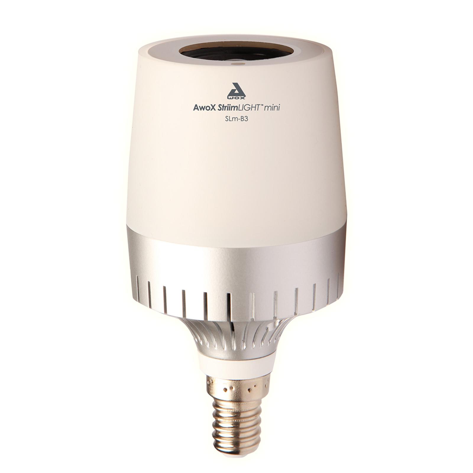AwoX StriimLIGHT Mini White LED lampadina E14
