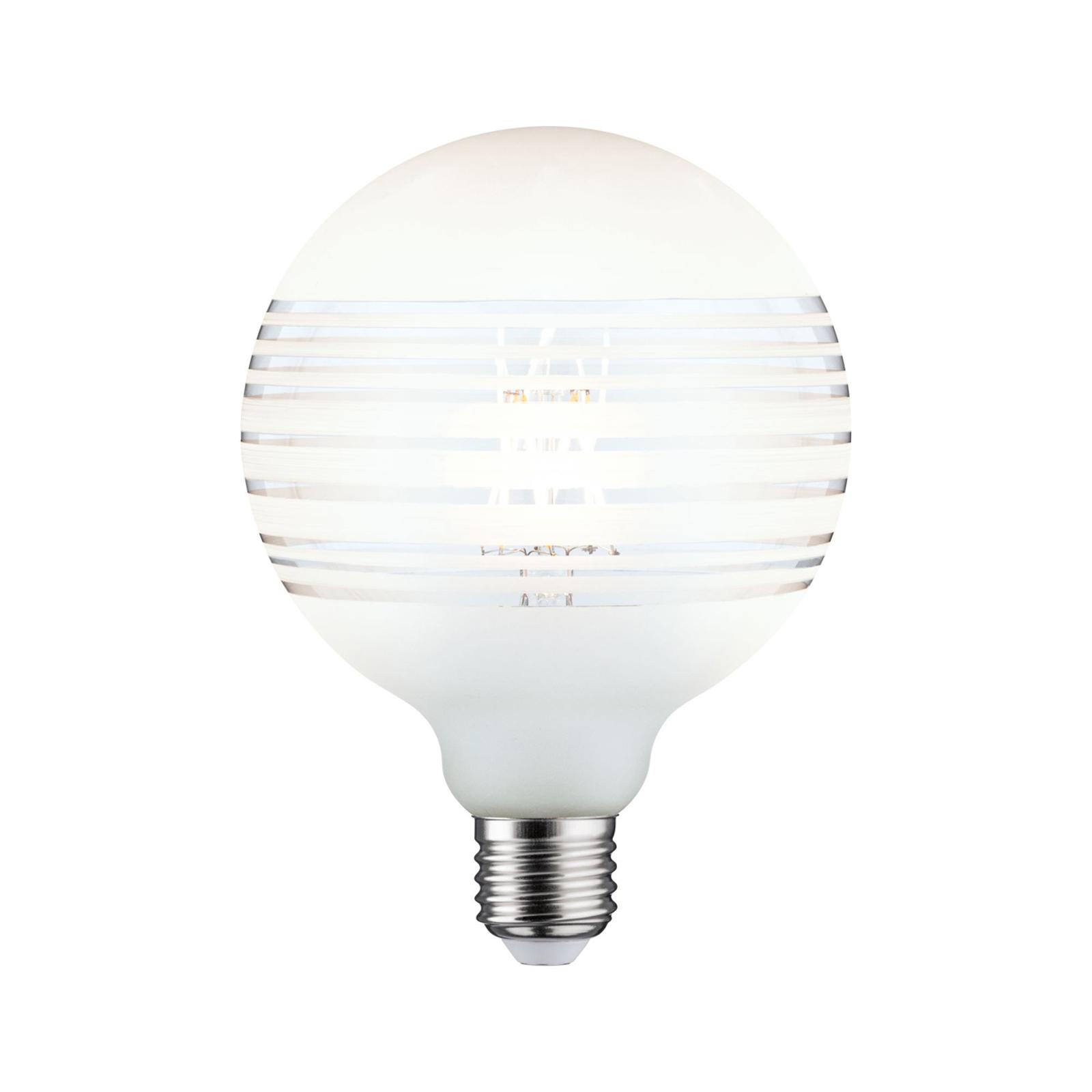 Paulmann E27 globe LED 4,5W anneau miroir lignes