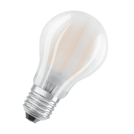 OSRAM ClassicA LED-Lampe E27 2,5W 2.700K matt