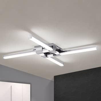 Vierflammige LED-Bad-Deckenleuchte Argo