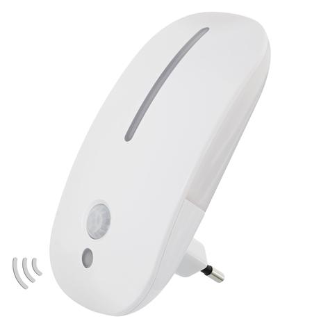 Dora - LED-nattlys for stikkontakten, m. sensor