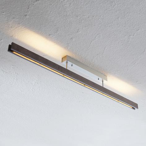 Tre-LED-taklampe Alin, dimbar, kolonialeik