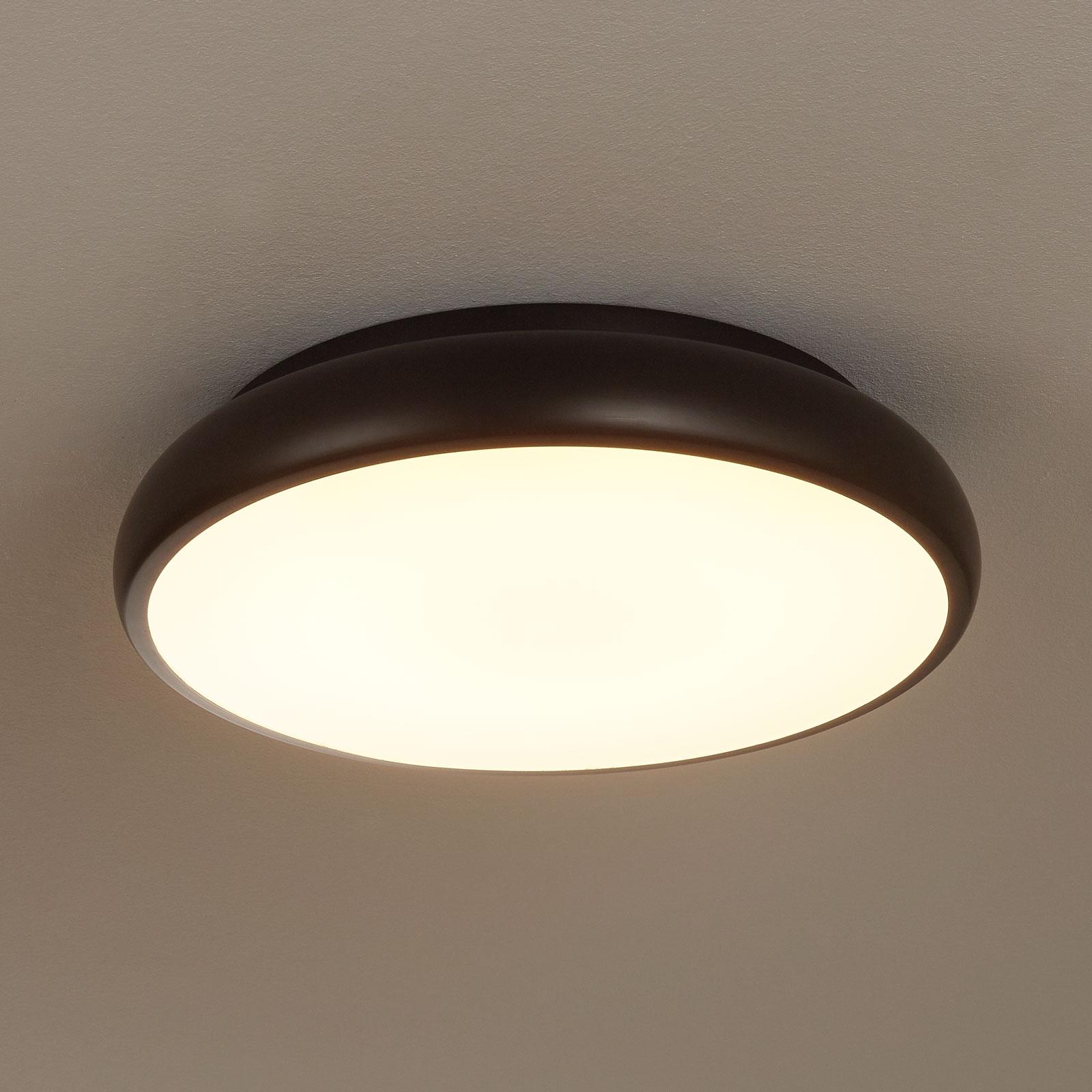 EGLO connect Riodeva-C plafonnier LED noir
