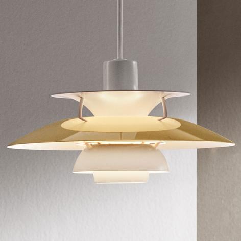 Louis Poulsen PH 5 messing hanglamp Ø 50 cm
